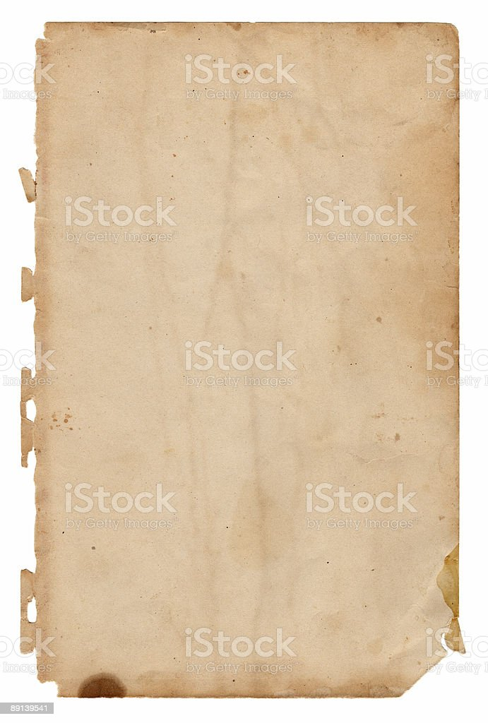 Book Page (XL) royalty-free stock photo
