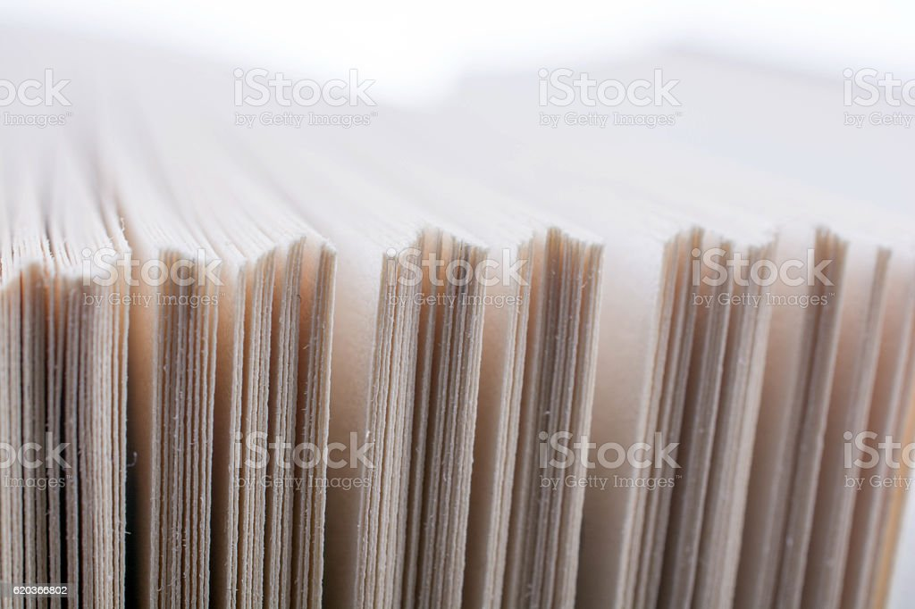 Book pages partly in view zbiór zdjęć royalty-free