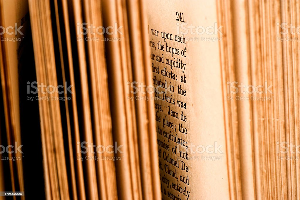 Book Pages royalty-free stock photo