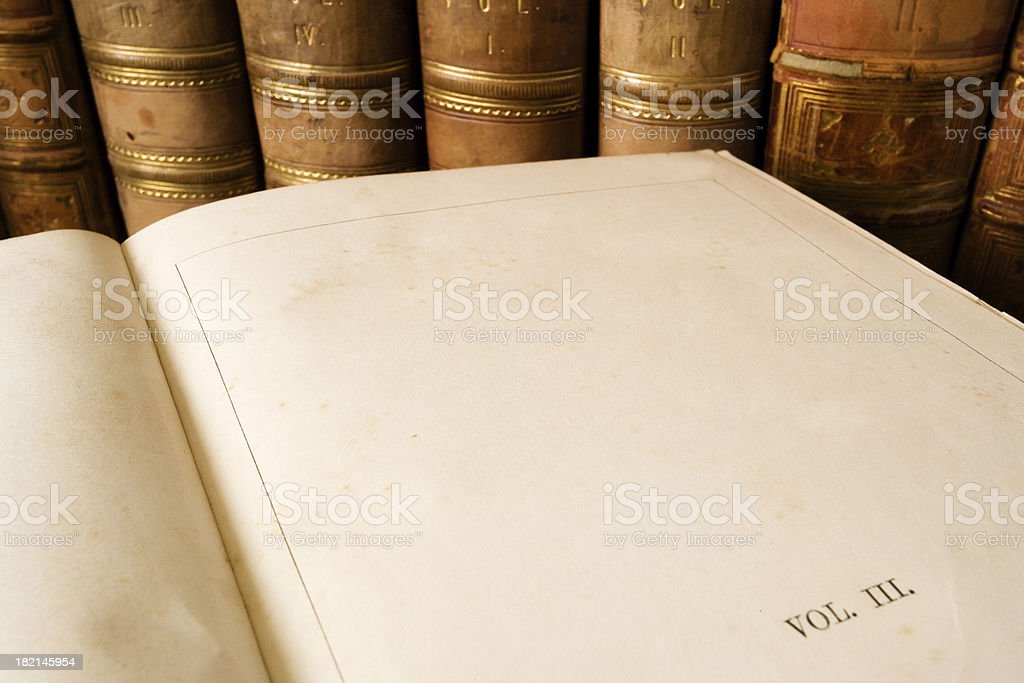 Book Pages stock photo