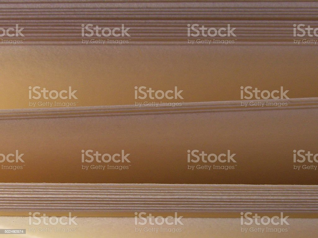 Book Pages with Open Gaps stock photo