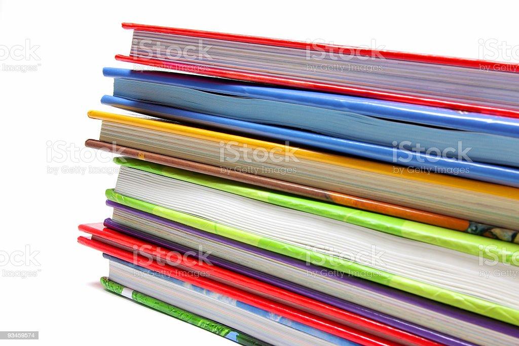 Book Pile stock photo