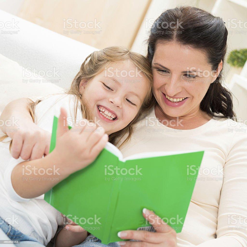 Book reading royalty-free stock photo