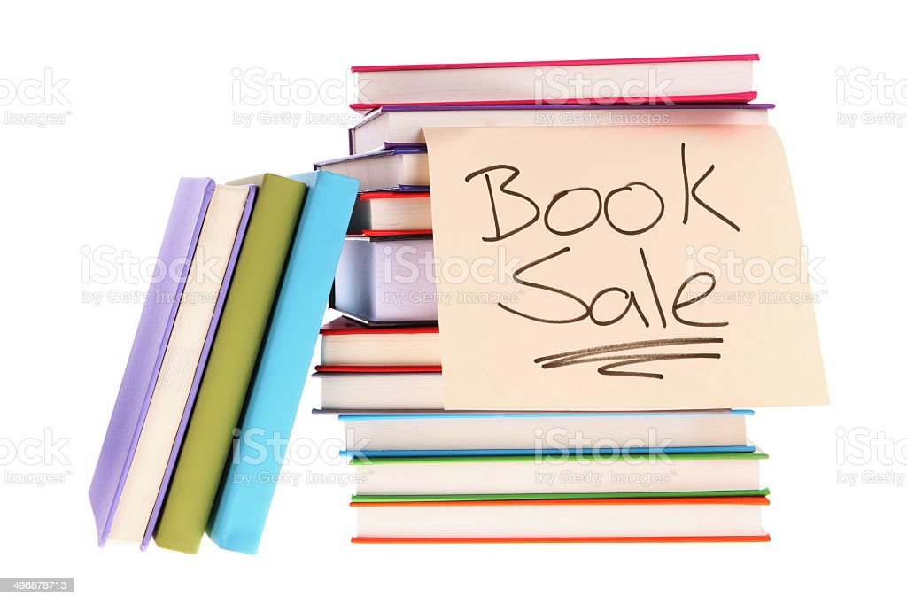 Book Sale stock photo