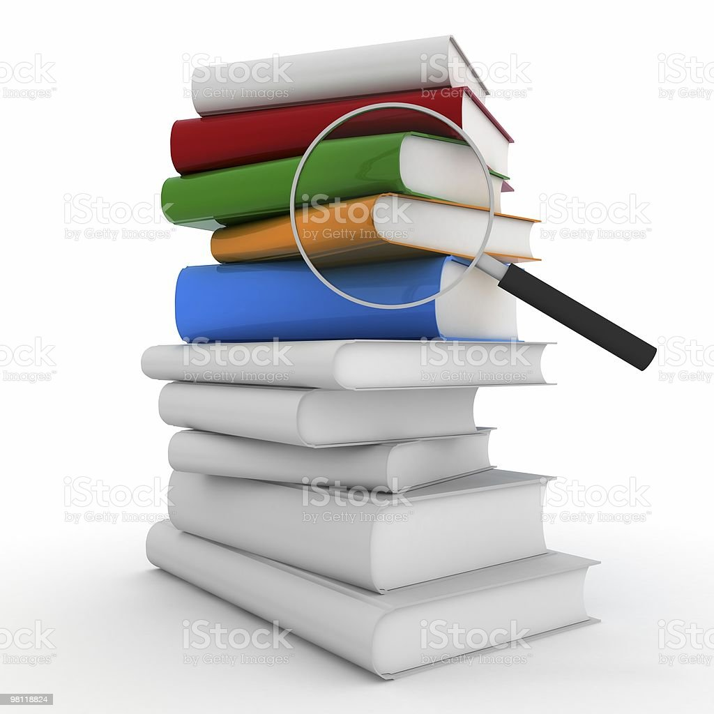 Book Search royalty-free stock photo