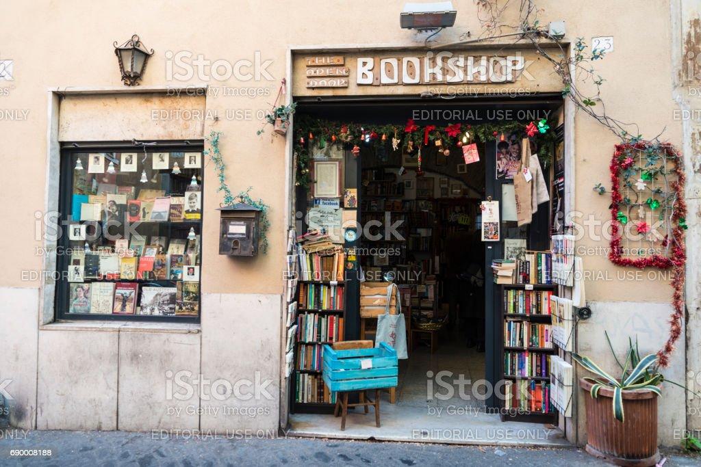Buchhandlung in Rom, Italien – Foto