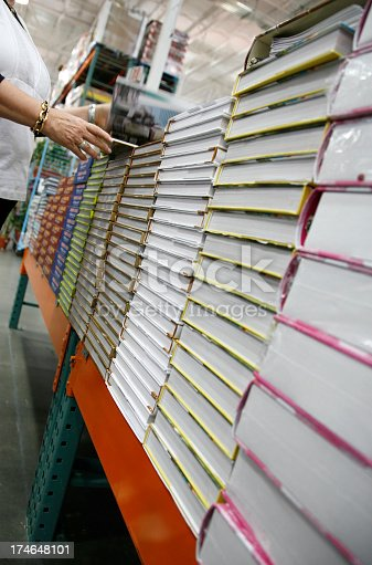 istock Book shopper 174648101