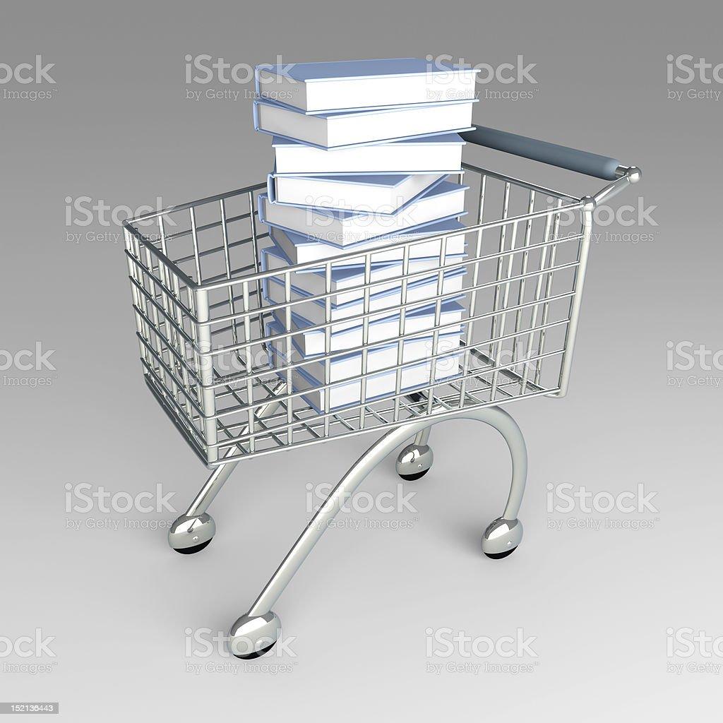 Book Shopping royalty-free stock photo