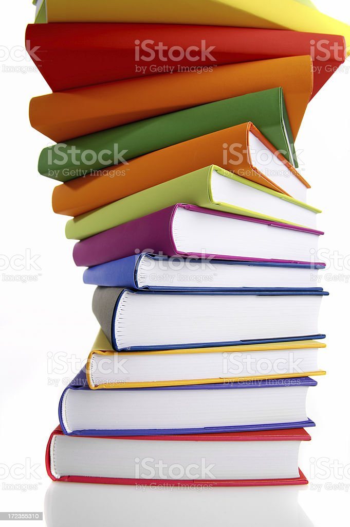 Book Spiral royalty-free stock photo