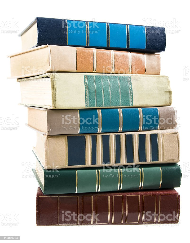 Book Stack royalty-free stock photo