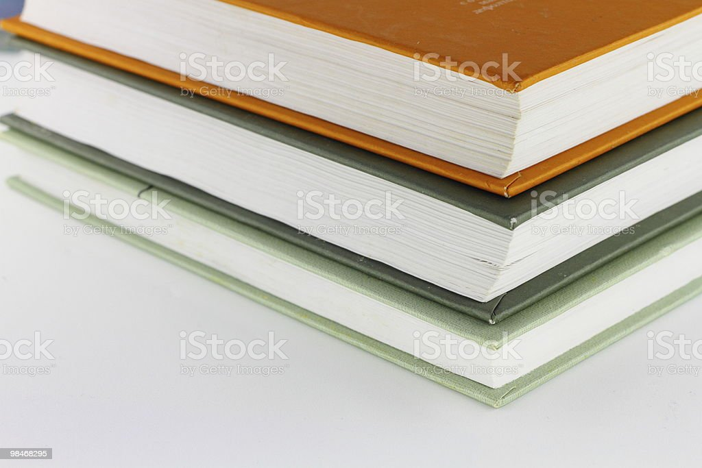 stack di libro foto stock royalty-free