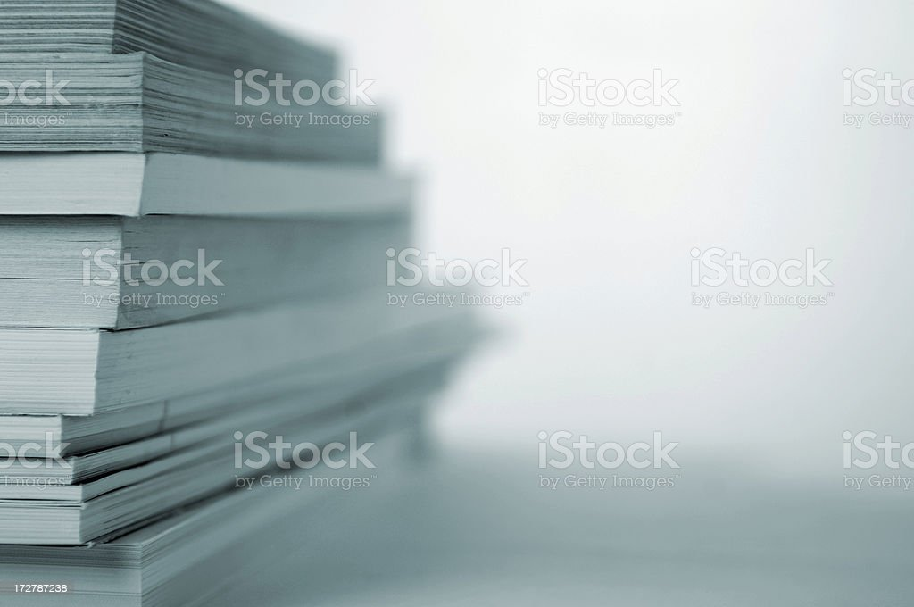 book stack series stock photo