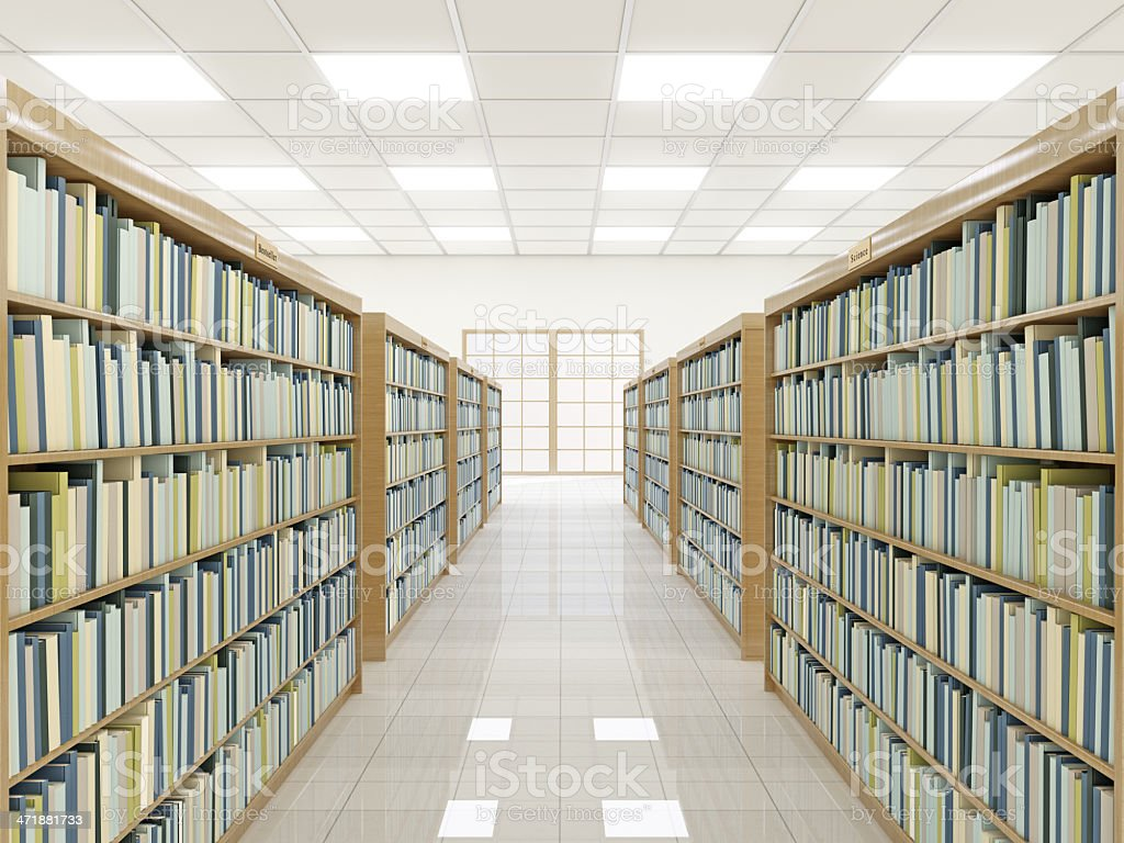 Book Store royalty-free stock photo