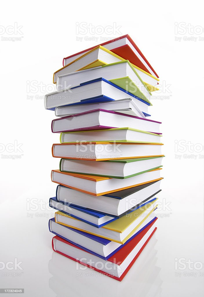 Book Tower royalty-free stock photo