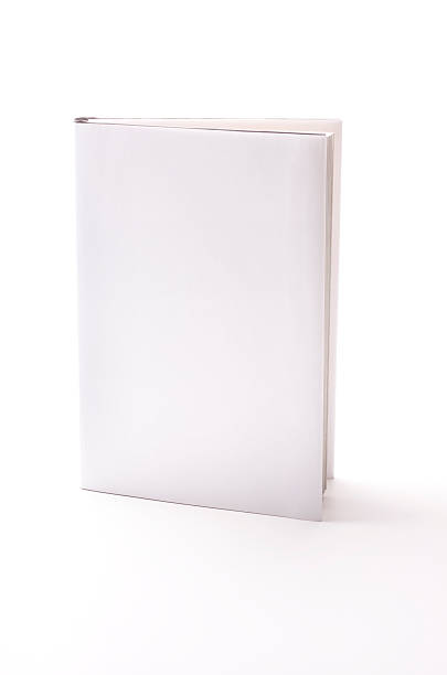 Book with blank cover stock photo