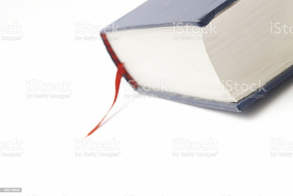 Book with bookmark royalty-free stock photo