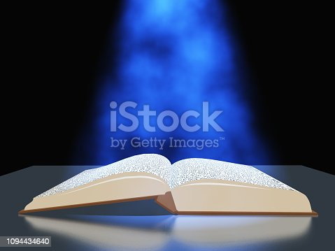 528389419istockphoto Book with light 1094434640