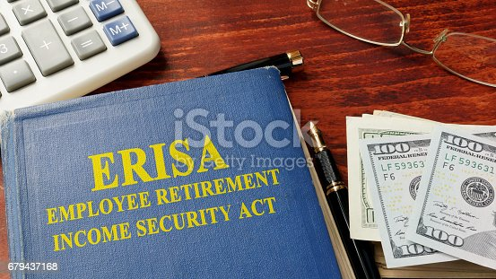 Book with title Employee Retirement Income Security Act (ERISA).