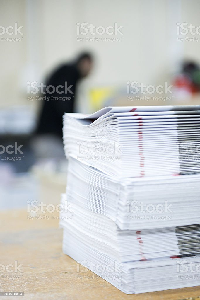 bookbinder stock photo