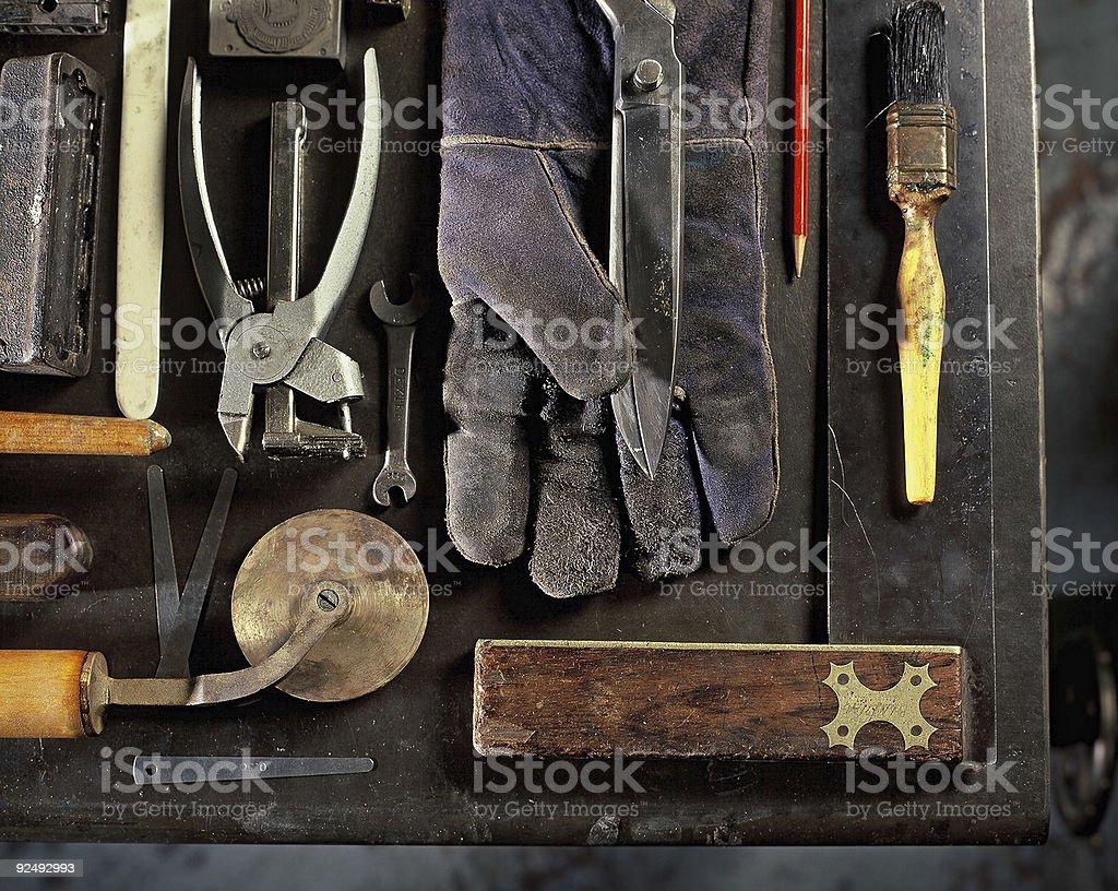 Buchbindung Tools – Foto