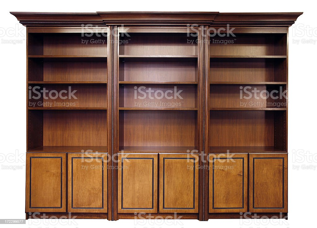 Bookcase #2 royalty-free stock photo