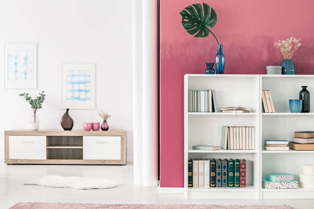 Royalty Free White Bookshelf Pictures, Images and Stock Photos - iStock