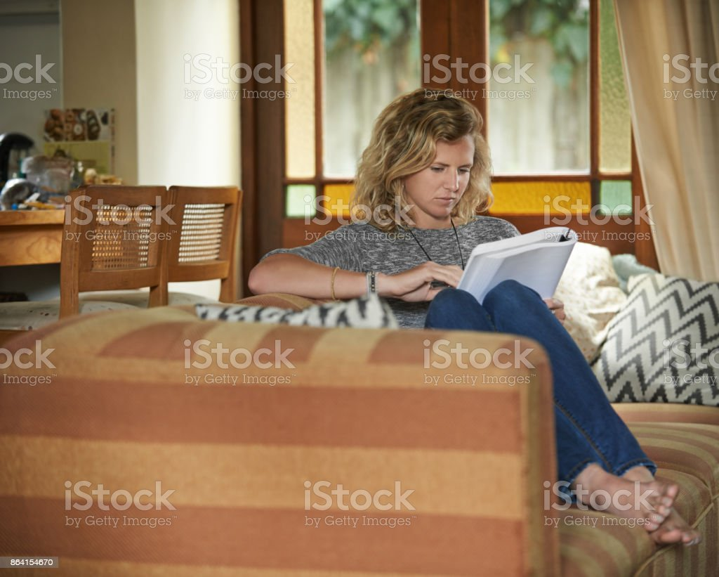 Booked in for some relaxation royalty-free stock photo