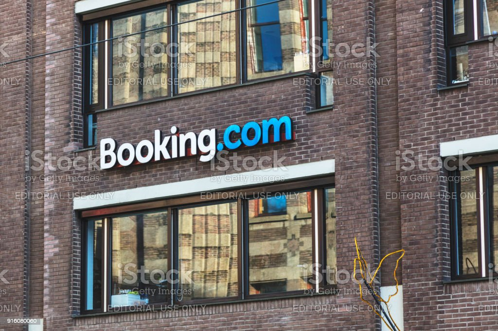 Booking Com Office, Amsterdam, Netherlands royalty-free stock photo