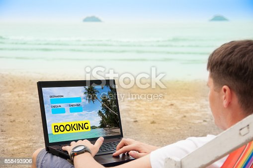 istock Booking concept 858493906