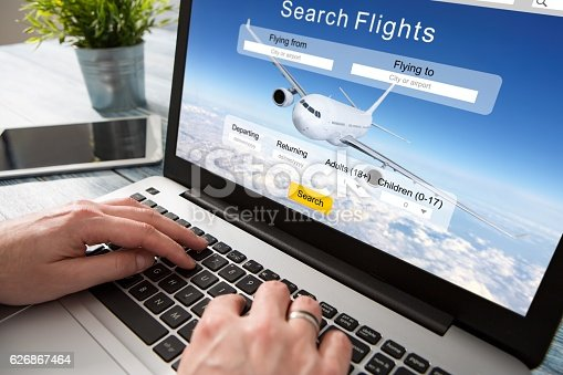 istock booking flight travel traveler search reservation holiday page 626867464