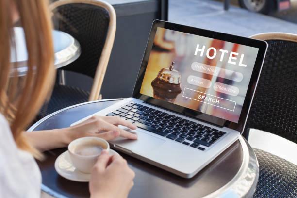 Hotel im Internet buchen, Reiseplanung – Foto