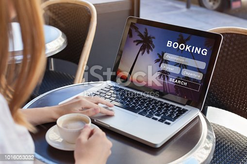 istock booking online concept, travel 1016053032