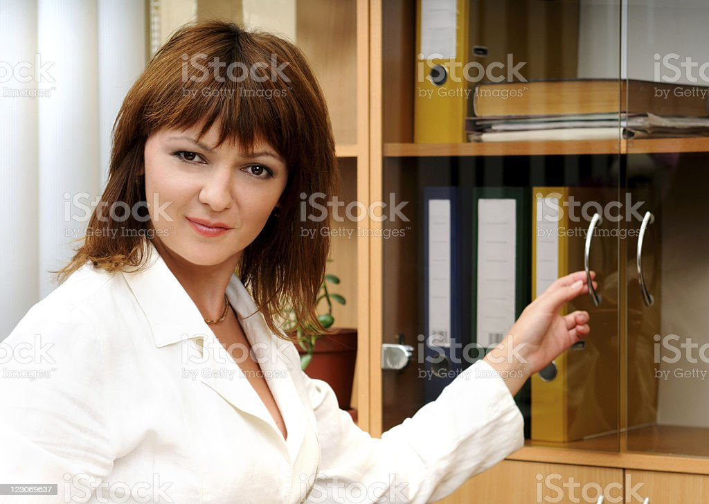 Bookkeeper royalty-free stock photo