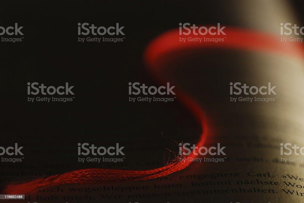 Bookmark stock photo