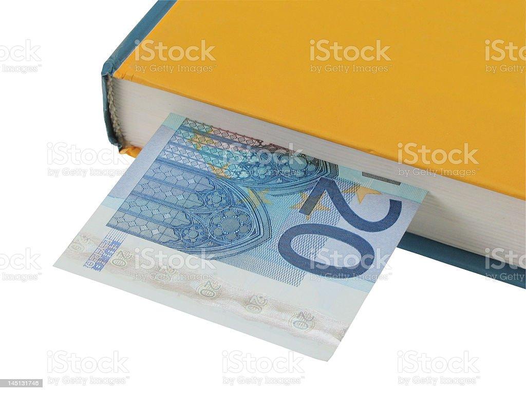 Bookmarker stock photo