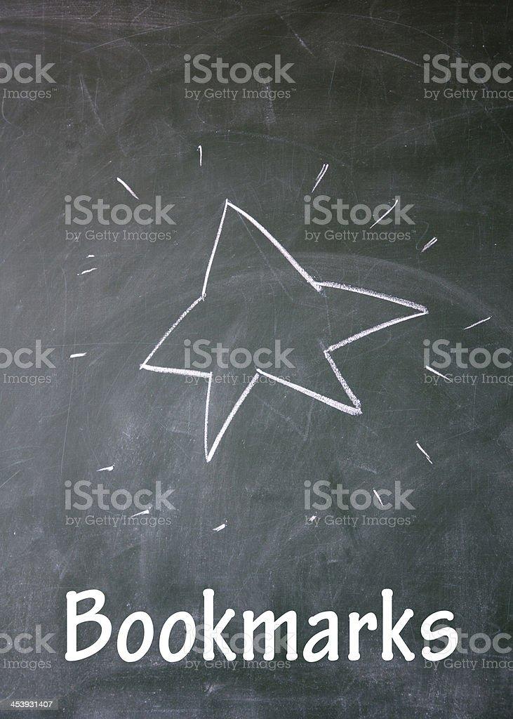 bookmarks symbol stock photo
