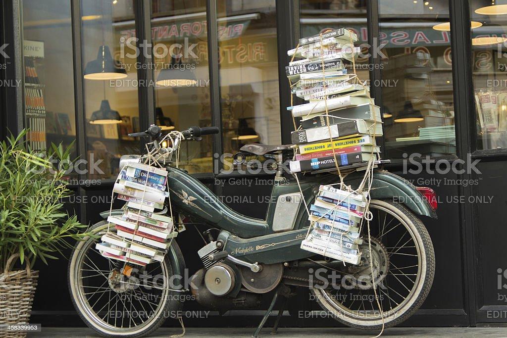 Bookmobile stock photo