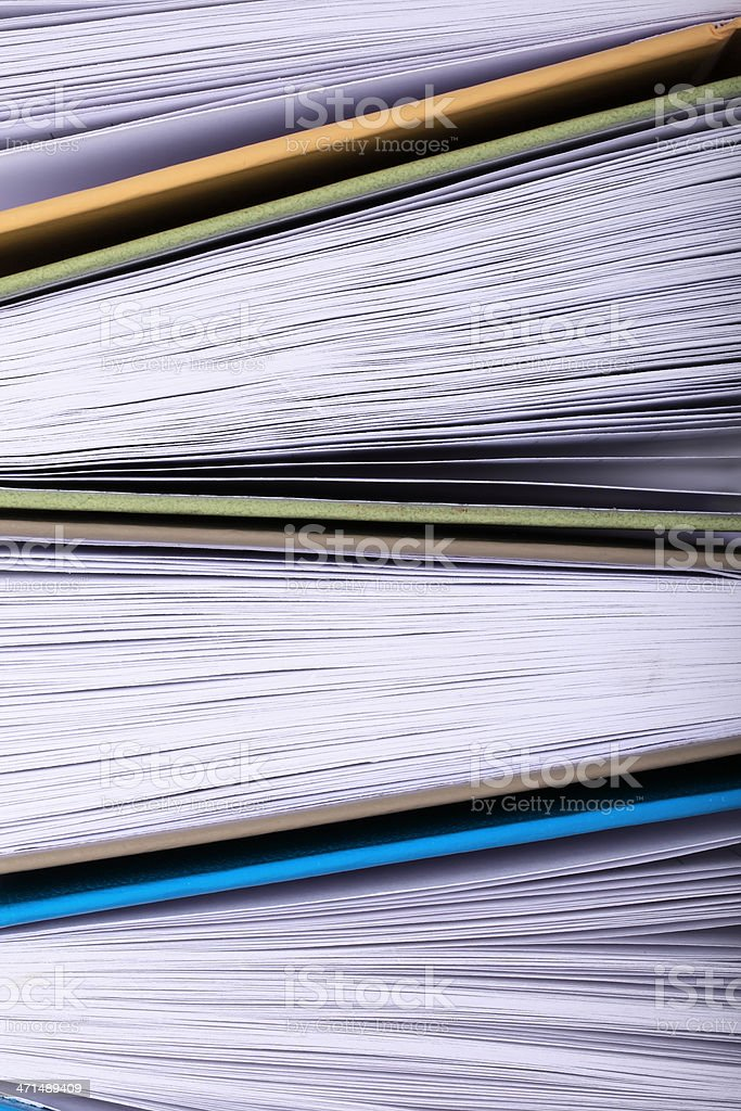 Books Abstract royalty-free stock photo