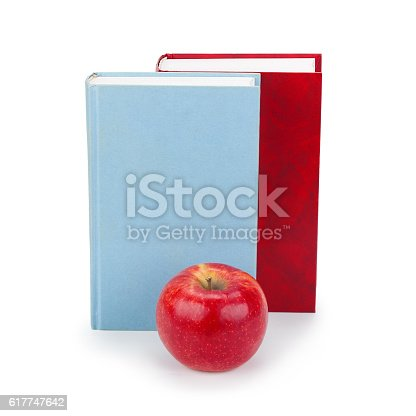 453684295istockphoto books and apple 617747642