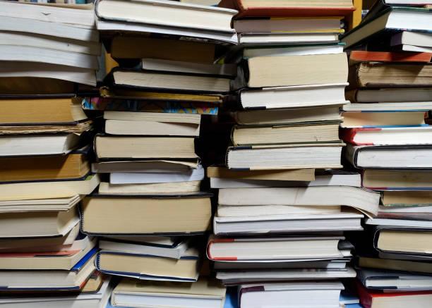 Books and Books stock photo