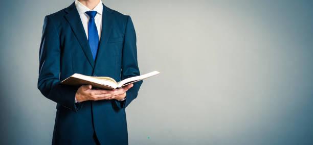 書籍やビジネスマン - 教授 ストックフォトと画像