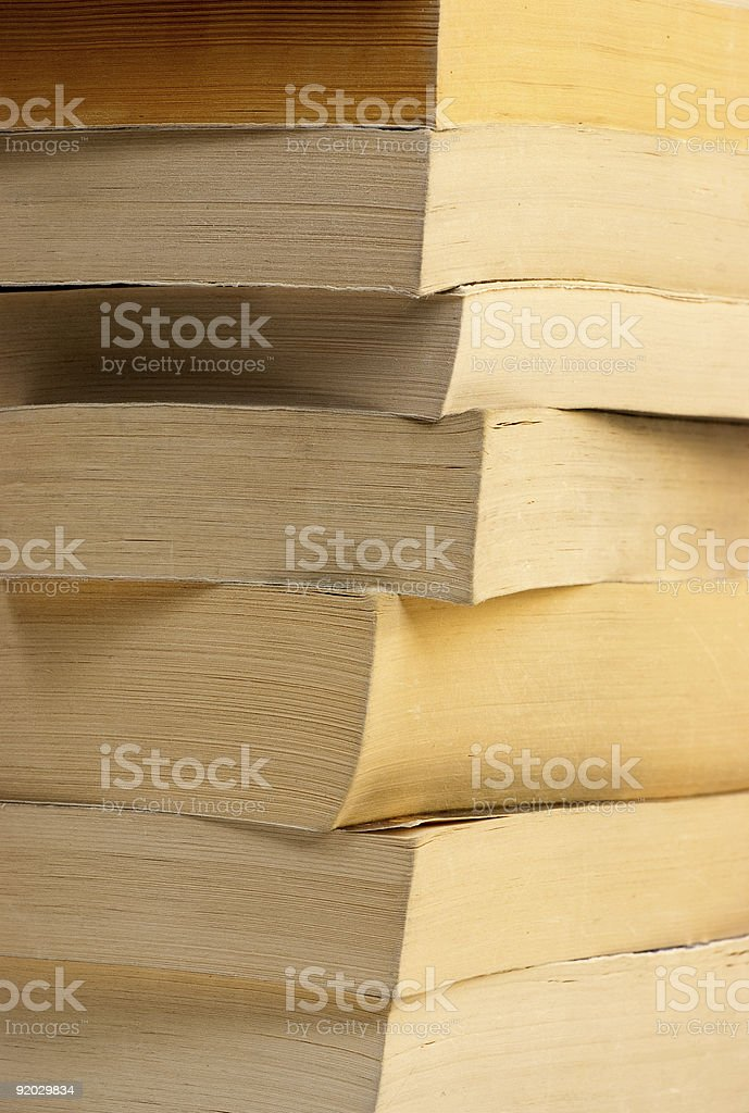 Books angle royalty-free stock photo