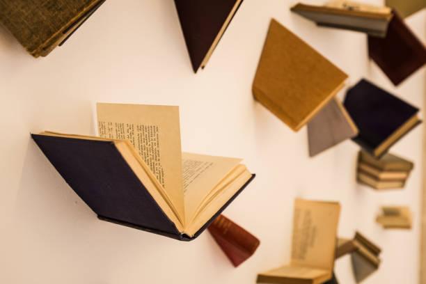 Bücher fliegen – Foto