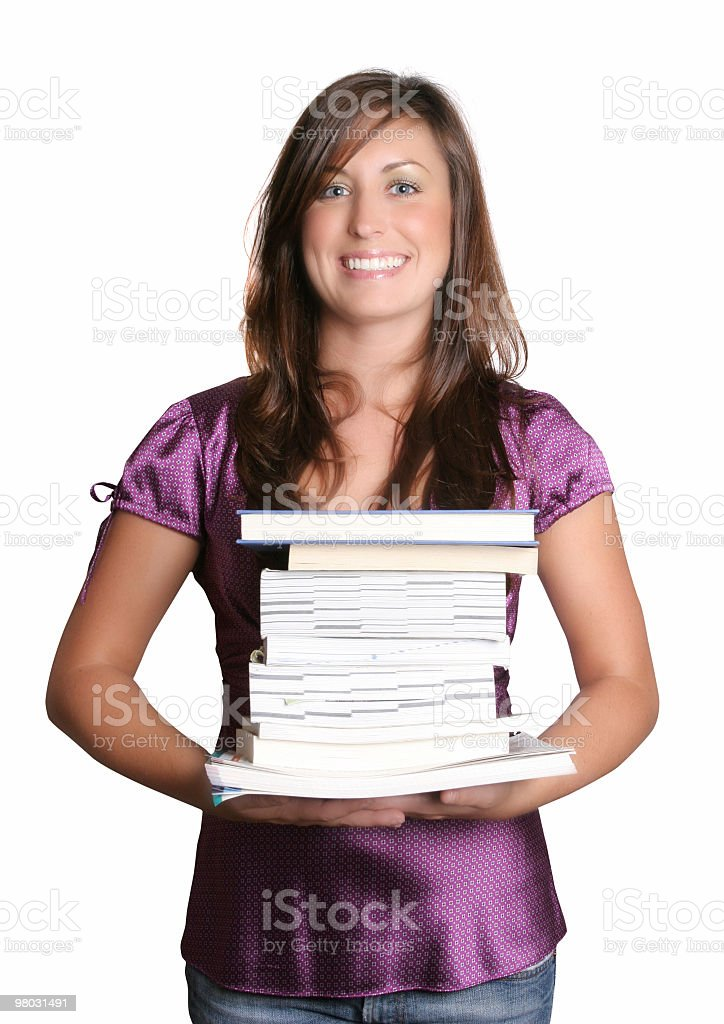 Books are great royalty-free stock photo