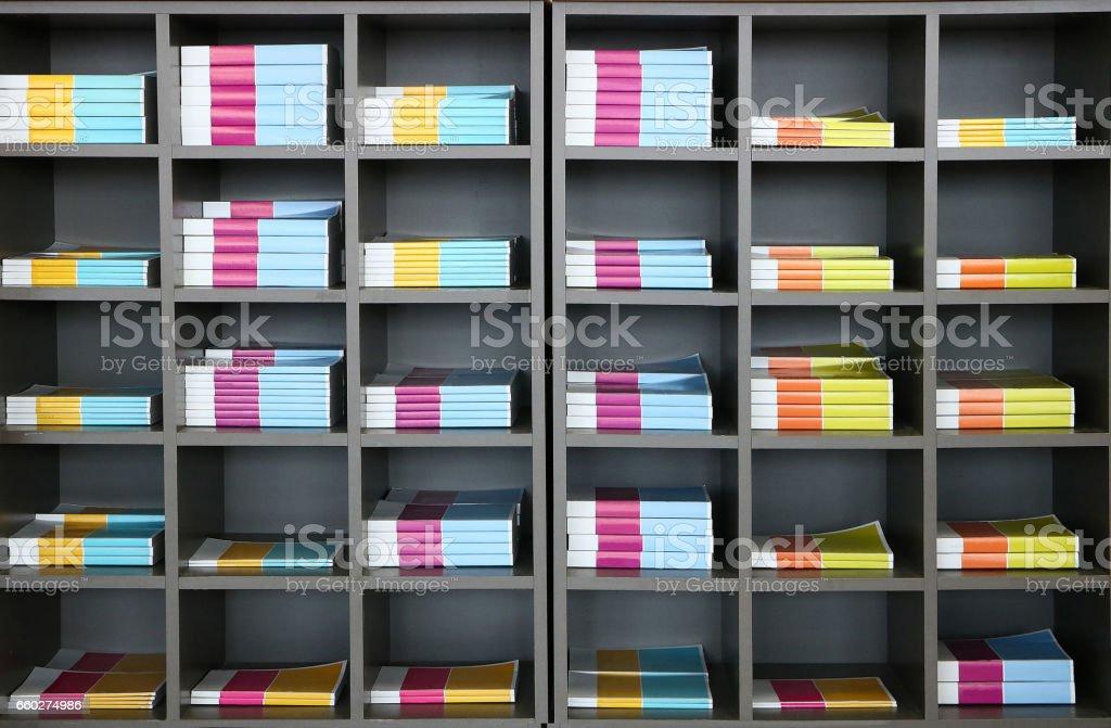 Books Case stock photo