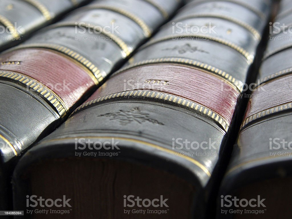 Books Close Up royalty-free stock photo