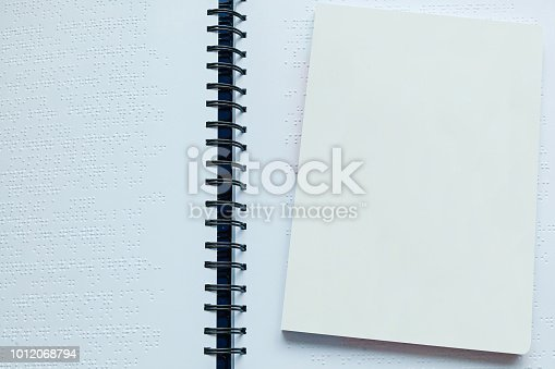 1017945546 istock photo Books for blind people 1012068794