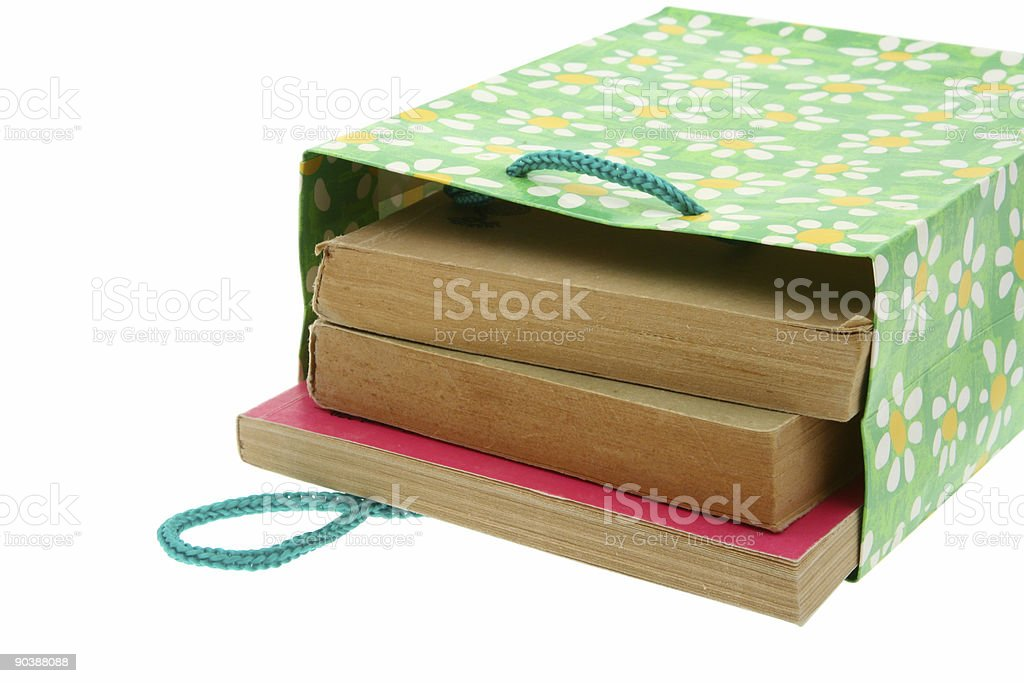 books for present royalty-free stock photo
