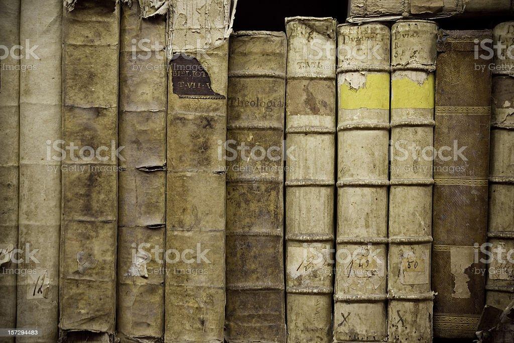 Books of History royalty-free stock photo