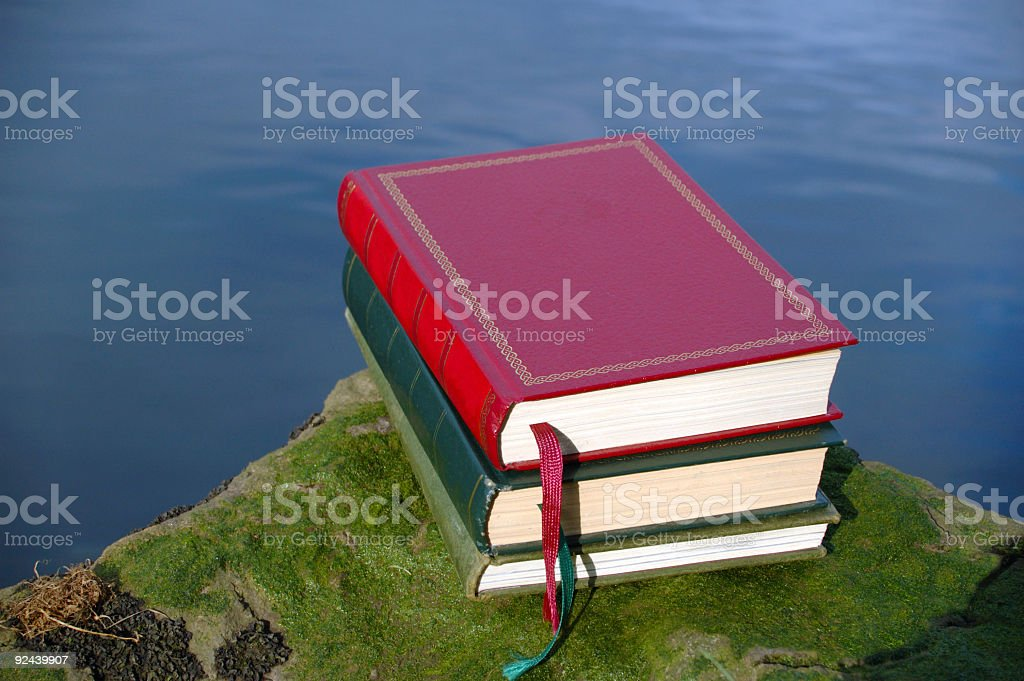 books on nature royalty-free stock photo